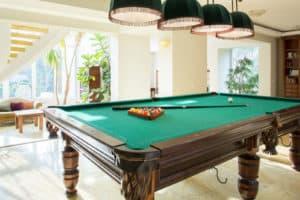 Billiard table