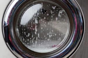 Commercial washing machine door