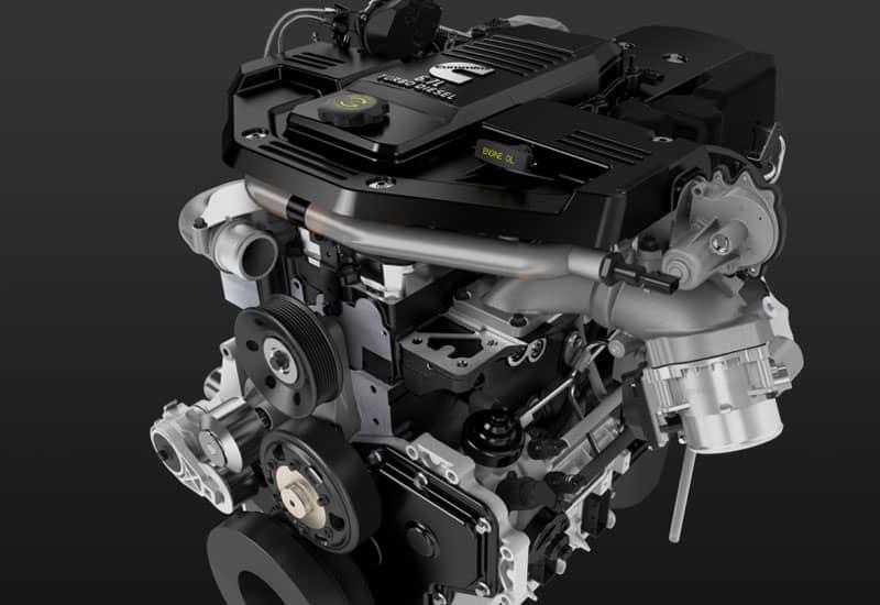 Cummins 6.7L diesel truck engine