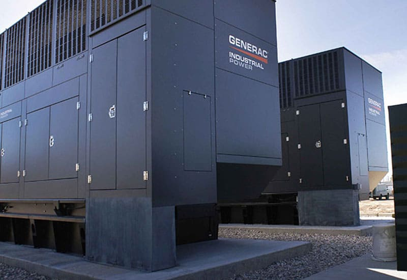 Generac parallel generators