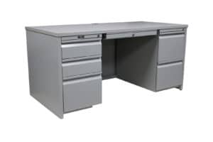 Invincible Furniture Contemporary Plus gray desk