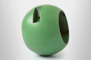 Coated ball valve
