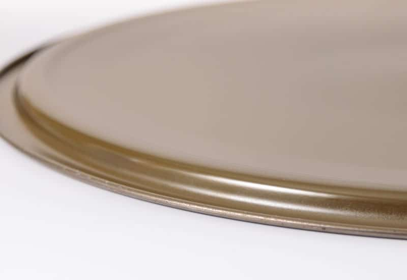 Coated underside of pail lid