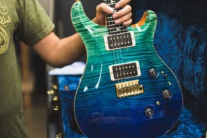 PRS electric guitar custom finish