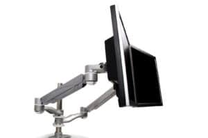 Safco dual monitor stand