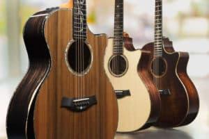 Taylor V-Class guitars