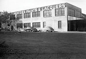 1935: Additional factory and manufacturing space built