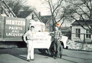 1946: Hentzen Paints and Laquers