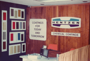 1967: Name changed to Hentzen Chemical Coatings, Inc.