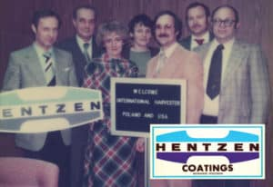 1982: Corporate name changed to Hentzen Coatings Inc.